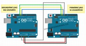 Arduino vypálení zavaděče schéma
