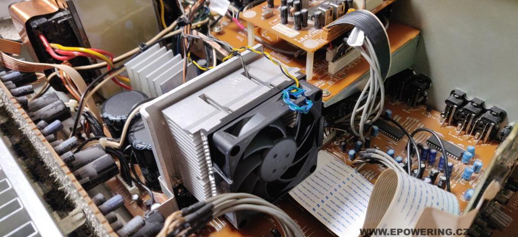 Thomson DPL2000 - aktivní chlazení