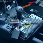 BMW e46 - android radio špatné chlazení